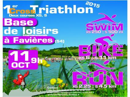 Base Loisirs Favières Cross Triathlon