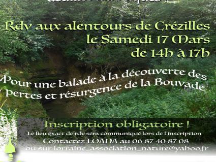 Résurgence de la Bouvade, visite !