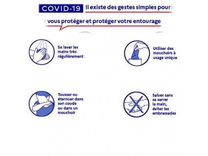 COVID 19 : recommandations