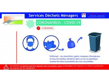 COVID 19 Déchets ménagers et compostage