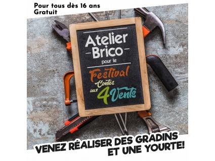Atelier Brico festival du contes 4 vents