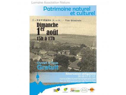 Patrimoine naturel et culturel Favières